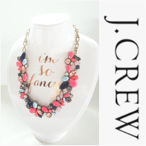 J. Crew Jewelry - NWOT J. CREW PINK SUMMER NECKLACE